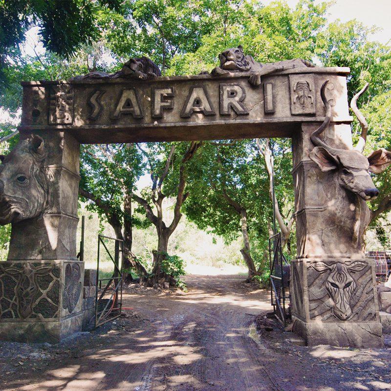 Casela Safari Arch Sculpture