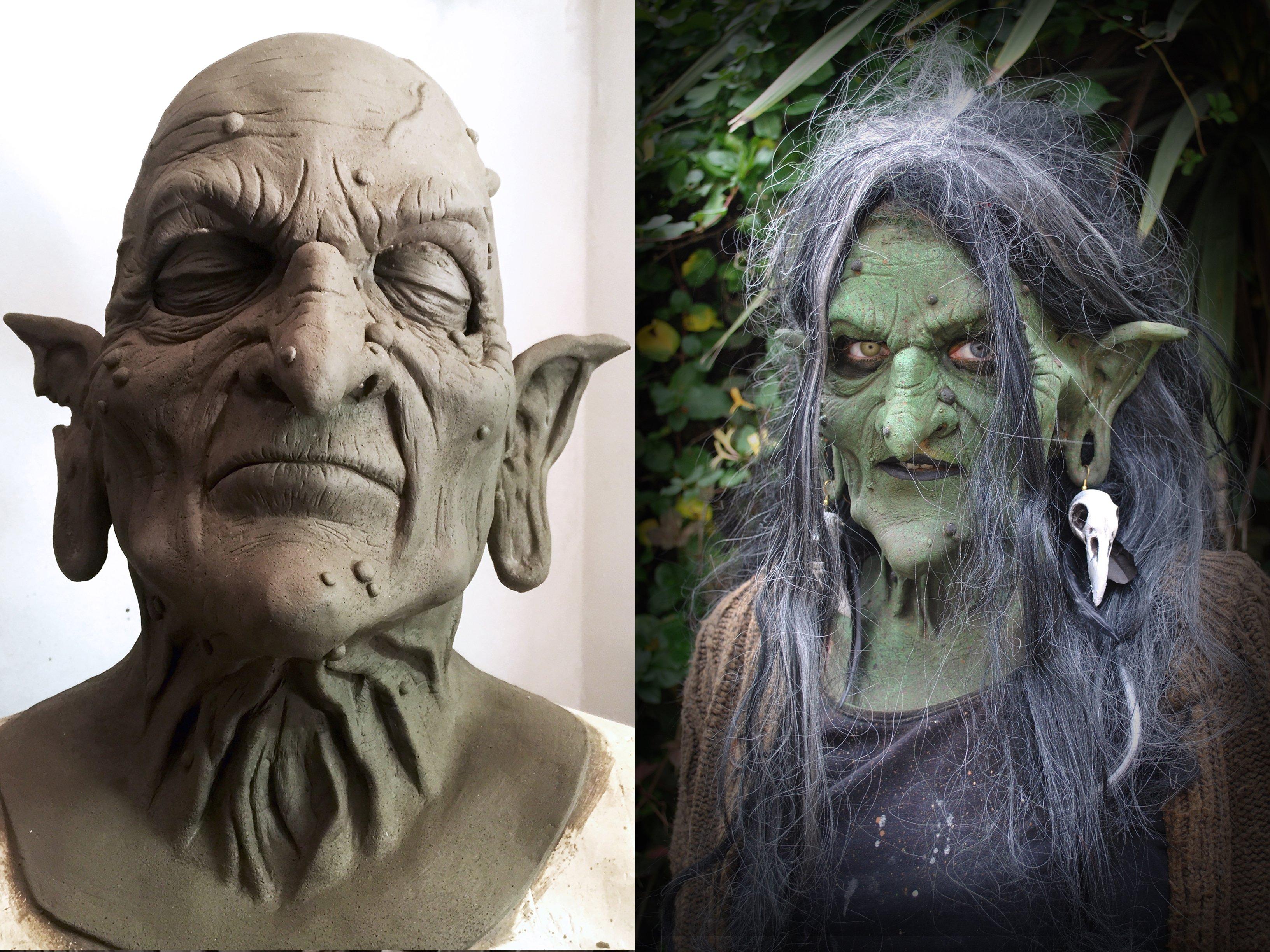 Sfx Makeup Prosthetics Costume